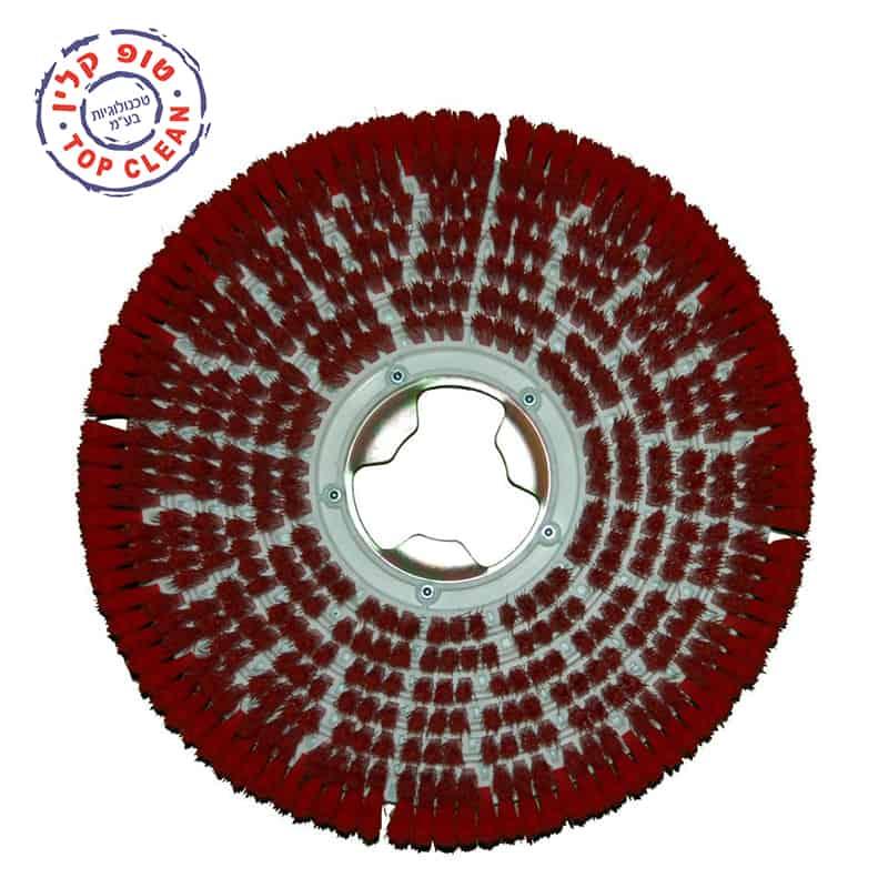 מברשת אשר מתחברת ישירות למכונה, המברשת מתאימה בעיקר למכונות פוליש. המברשת היחידה בעולם אשר בנויה בצורת מסננת ומפזרת את המים באופן שווה על המשטח. קרא עוד